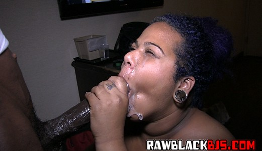 Raw black blowjobs